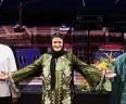 خوانندگی بازیگر زن معروف در کنسرت تهران